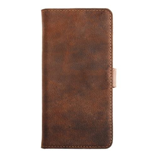 Image of   Essentials Leather Wallet i ægte læder til Apple iPhone 6/6S - Brun
