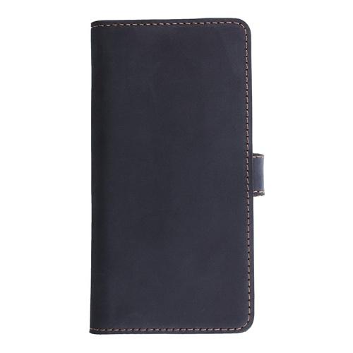 Image of   Essentials Leather Wallet i ægte læder til Apple iPhone 6 Plus/6S Plus - Blå