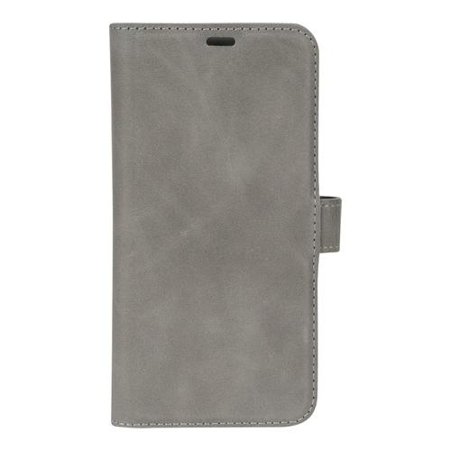 Image of   Essentials Leather Wallet i ægte læder til Apple iPhone X/XS - Grå