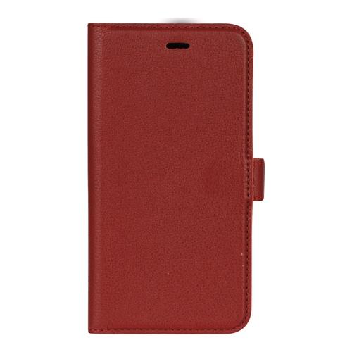 Image of   Essentials Leather Wallet i ægte læder til Apple iPhone X/XS - Rød