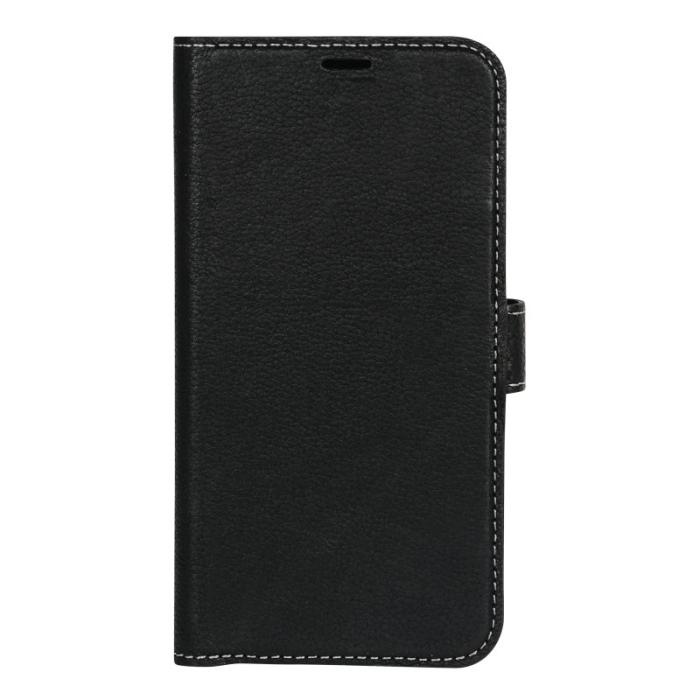 Image of   Essentials Leather Wallet i ægte læder til Huawei P20 Pro - Sort