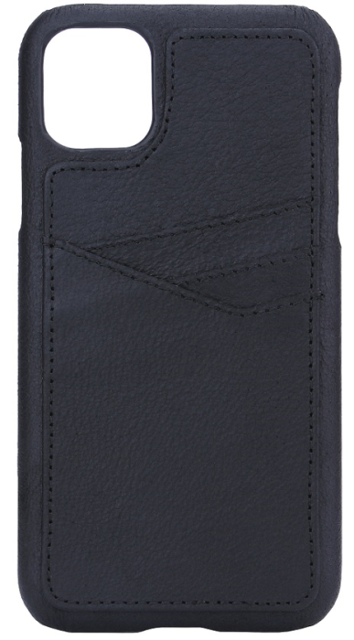 Image of   Essentials PU triple card cover til Apple iPhone 11 Sort
