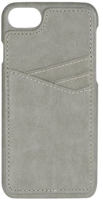 Image of   Essentials PU triple card cover til Apple iPhone 6/6S/7/8 Grå
