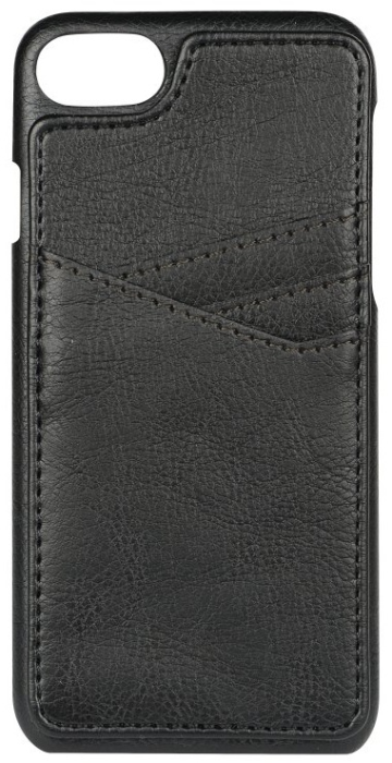 Image of   Essentials PU triple card cover til Apple iPhone 6/6S/7/8 Sort