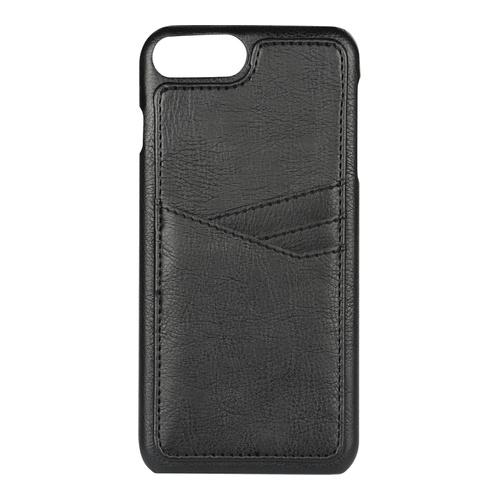 Image of   Essentials PU triple card cover til Apple iPhone 6 Plus/6S Plus/7 Plus/8 Plus Sort