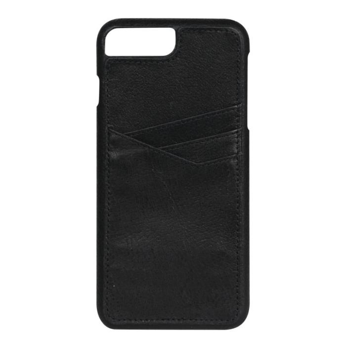 Image of   Essentials PU triple card cover til Apple iPhone 6S Plus/7 Plus Sort