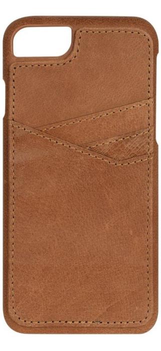 Image of   Essentials PU triple card cover til Apple iPhone 7 Brun
