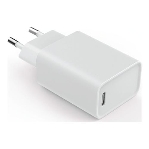 Image of   Essentials Vægoplader PD 18W USB-C hvid