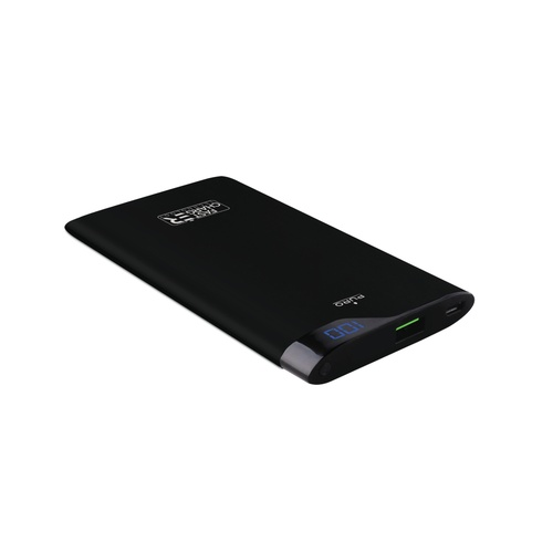 Image of   Fast Charge Powerbank 4000mAh 1USB 2.4A sort