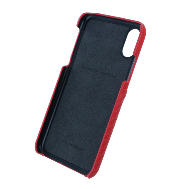 Image of   Ferrari - Urban SF Carbon - Hard Cover - Apple iPhone X - Red