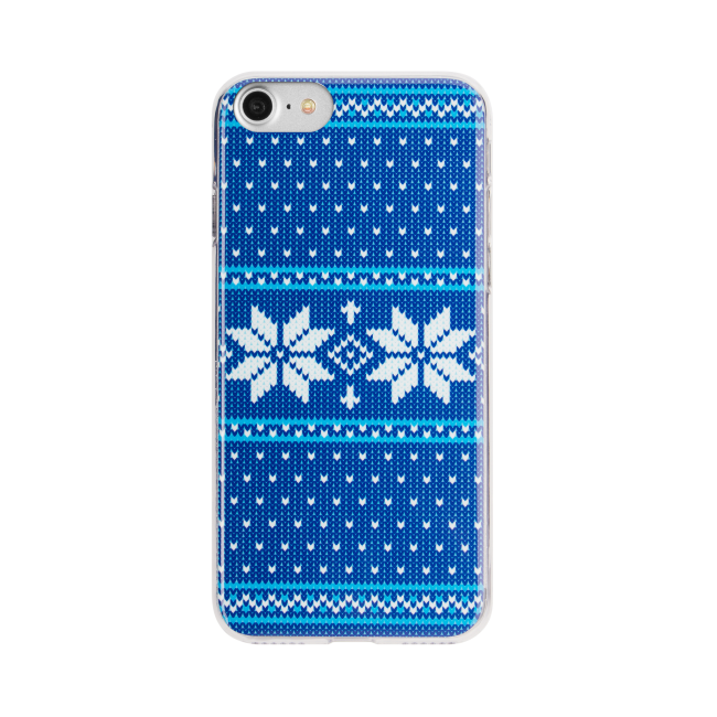 Image of   FLAVR Case Ugly Xmas Sweater for iPhone 7 blue