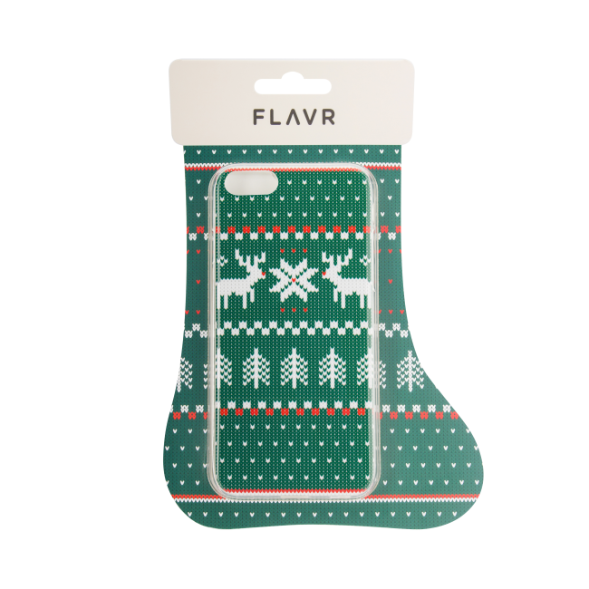Image of   FLAVR Case Ugly Xmas Sweater for iPhone 7 green