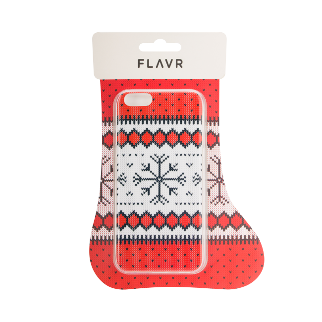 Image of   FLAVR Case Ugly Xmas Sweater for iPhone 7 red