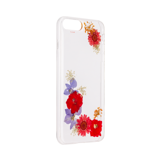 Billede af FLAVR iPlate Real Flower Amelia for iPhone 6+/6s+/7+/8+ colourful