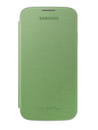 Billede af Originalt Samsung Galaxy S4 Flip Cover - Lime Green