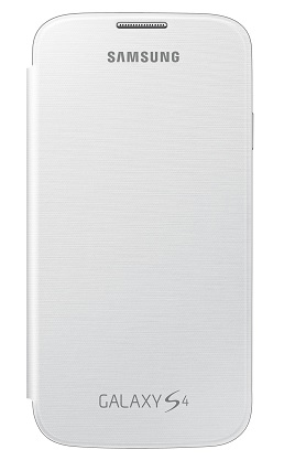 Billede af Originalt Samsung Galaxy S4 Flip Cover - Polaris White