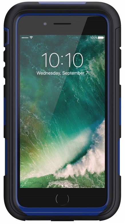 Image of   Griffin Survivor Summit Case for Apple iPhone 7 in Black/Blue
