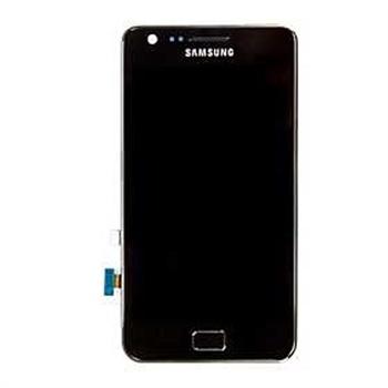 Billede af Originalt Samsung i9100 Galaxy S II Touch/LCD Unit - Sort