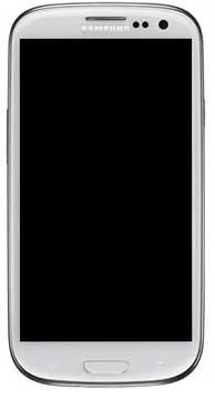 Billede af Reservedel: Originalt Samsung i9300 Galaxy S III Touch/LCD frontmodu Hvid