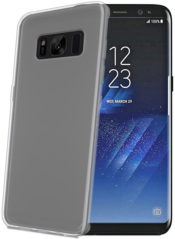 Billede af Samsung Galaxy S8 Silikone Cover fra Celly Clear