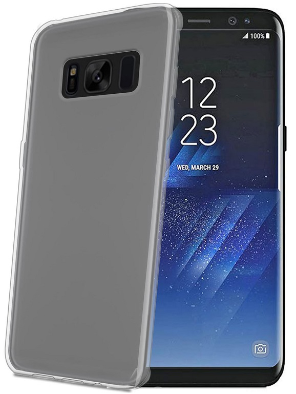 Billede af Celly Silikone Cover til Samsung Galaxy S8+ (Plus) Clear