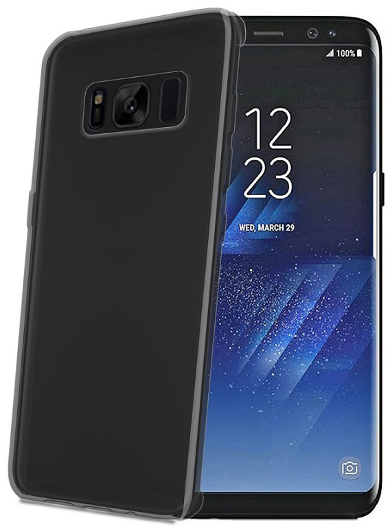 Billede af Celly Silikone Cover til Samsung Galaxy S8+ (Plus) Sort