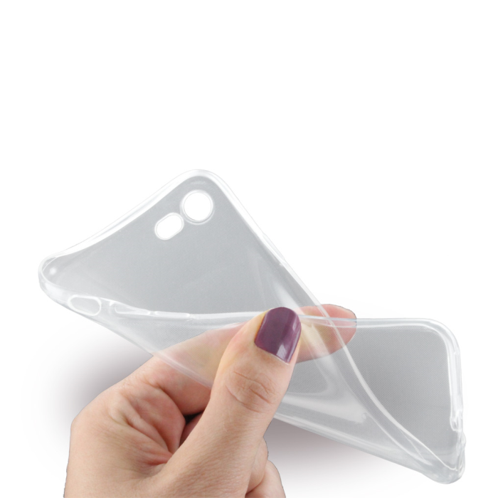 Image of   Gennemsigtigt iPhone 7/8 Cover Ultra Thin Silikone