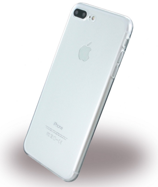 Image of   Gennemsigtigt iPhone 7 Plus Cover Ultra Thin Silikone