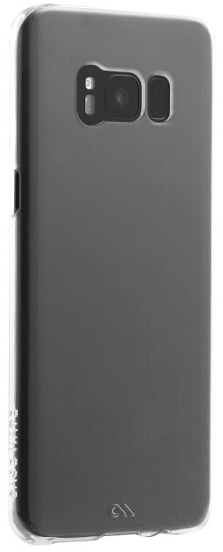 Image of   Case-mate Barely There til Samsung Galaxy S8+ (Plus) Gennemsigtigt