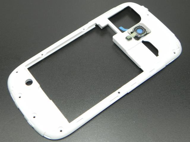 Image of   Originalt Samsung i8190 Galaxy S3 mini Midt Ramme Hvid