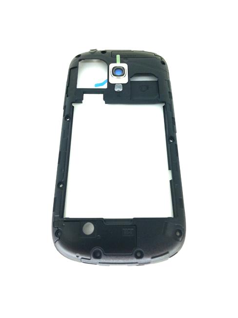 Billede af Originalt Samsung i8190 Galaxy S3 mini Midt Ramme Blå