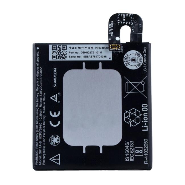 Image of   Google - Lithium Ionen Battery - G011A-B - Google Pixel 2 - 2700mAh