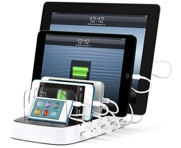 Image of   Griffin PowerDock 5 oplader til 5 telefoner / tablets