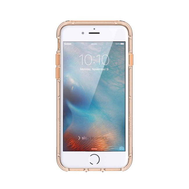 Image of   Griffin Survivor Clear Case for Apple iPhone 7/6s/6 in Gold
