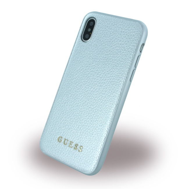 Image of   Guess - IriDescent - Hard Case - Apple iPhone X - Silver