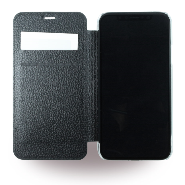 Image of   Guess Kunstlæder Wallet cover iPhone X Sort