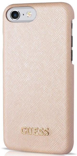 Image of   Guess iPhone 7 Saffiano Look Hard Case Beige