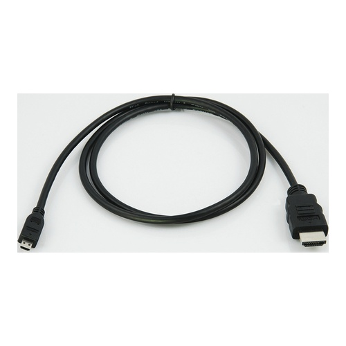 Image of   High Speed HDMI Micro - HDMI Kabel med Ethernet 2 m