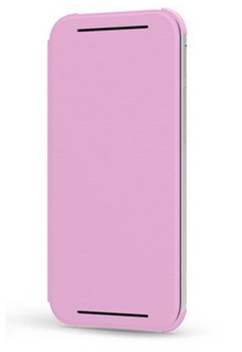 HTC One (M8) cover HTC HC V941 Flip Case - Pink