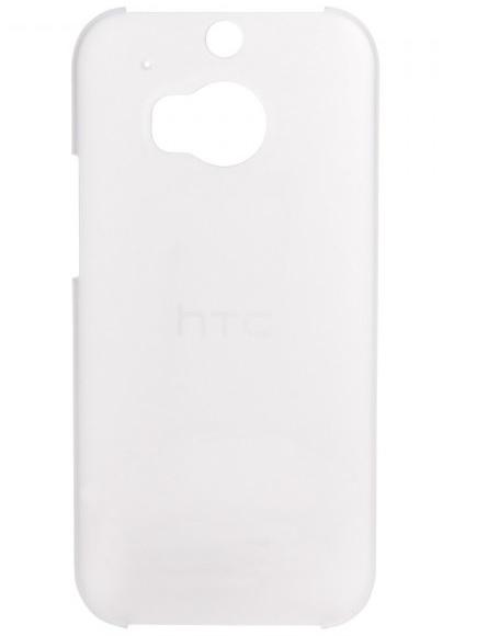 Billede af HTC One (M8) cover HTC HC C942 Translucent Hard Shell