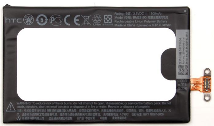 Billede af HTC Windows Phone 8X batteri HTC BM23100 Originalt