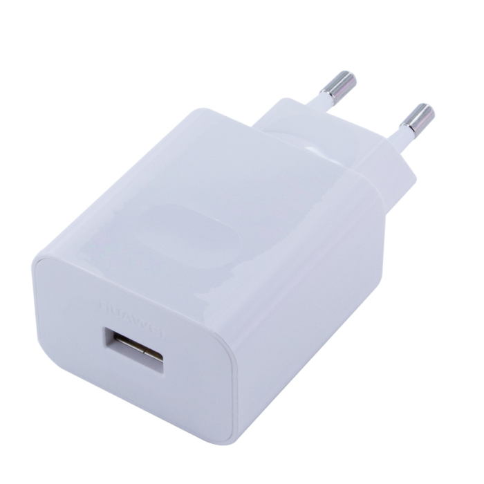 Image of   Huawei - AP81 - Super Charge Adapter + Cable / Data Cable - USB Type C - White
