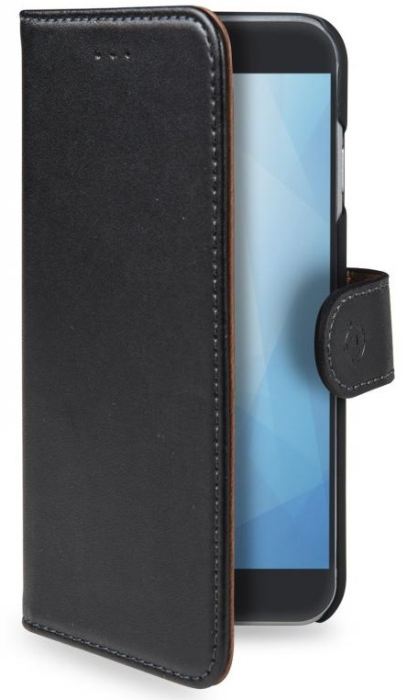 Image of   Huawei Honor 6A flipcover Celly Wally Case - Sort