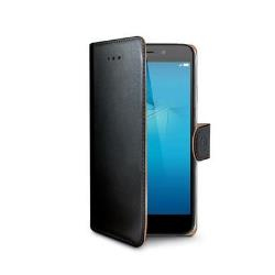 Image of   Huawei Honor 7 Lite flipcover Celly Wally Case - Sort
