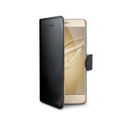 Image of   Huawei Honor 8 flipcover Celly Wally Case - Sort