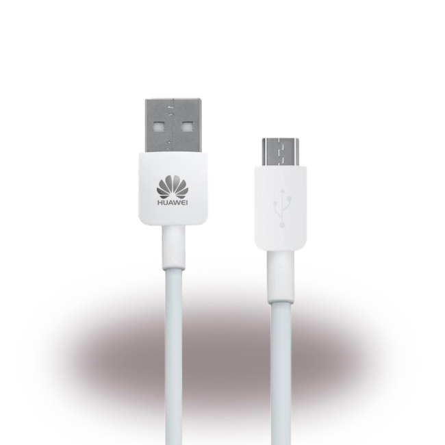 Billede af Huawei - HW-050100E01 - Charger / Adapter + Cable - USB - 1000mAh - White