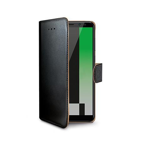 Image of   Huawei Mate 10 Lite flipcover Celly Wally Case - Sort