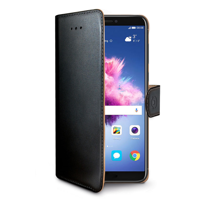 Image of   Huawei P Smart flipcover Celly Wally Case - Sort