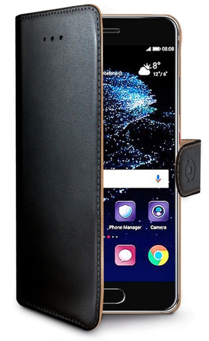 Image of   Huawei P10 flipcover Celly Wally Case - Sort