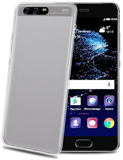 Image of   Huawei P10 Silikone Cover Celly Gelskin Gennemsigtigt